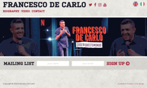 Francescodecarlo.it thumbnail