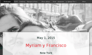 Franciscoymyriam.com thumbnail