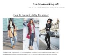 Free-bookmarking.info thumbnail