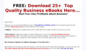 Free-home-business-ebooks.com thumbnail