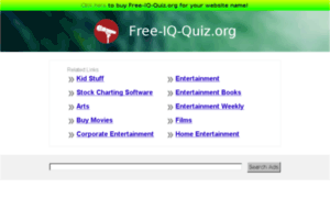 Free-iq-quiz.org thumbnail