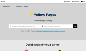 Freecall.yellowpages.pl thumbnail