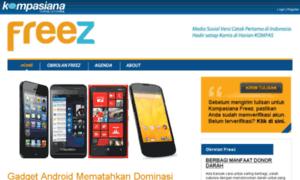 Freez.kompasiana.com thumbnail