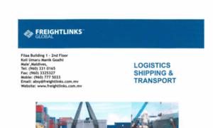 Freightlinks.com.mv thumbnail