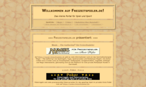 Freizeitspieler.de thumbnail