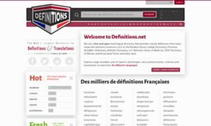 French.definitions.net thumbnail