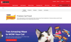 Friskies.com thumbnail