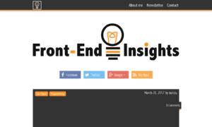 Frontendinsights.com thumbnail