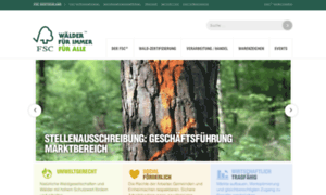 Fsc-deutschland.de thumbnail