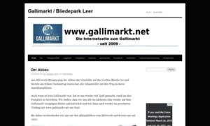 Gallimarkt.net thumbnail