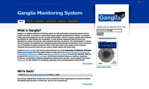 Ganglia.info thumbnail