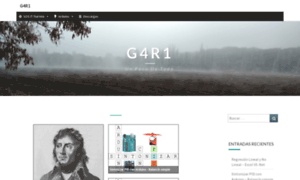 Garikoitz.info thumbnail
