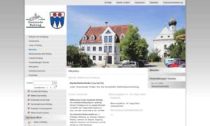 Gemeinde-rehling.de thumbnail