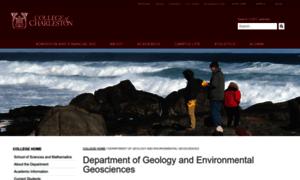 Geology.cofc.edu thumbnail