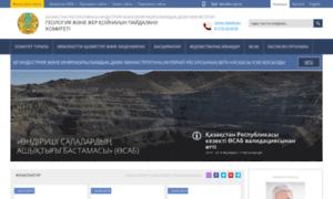 Geology.gov.kz thumbnail