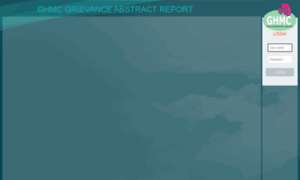 Ghmconlinegrievance.cgg.gov.in thumbnail