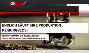 Gk-werkzeugmaschinen.de thumbnail