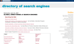 Globaldirectoryofsearchengines.blogspot.co.at thumbnail