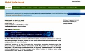 Globalmediajournal.com thumbnail