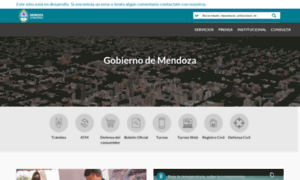 Gobernac.mendoza.gov.ar thumbnail