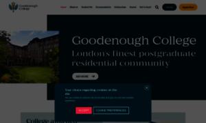 Goodenough.ac.uk thumbnail