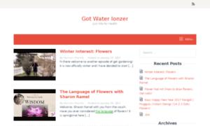 Gotwaterionizers.com thumbnail
