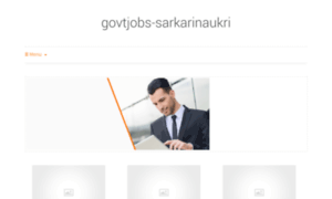 Govtjobs-sarkarinaukri.in thumbnail