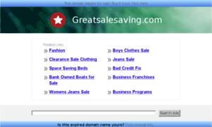 Greatsalesaving.com thumbnail