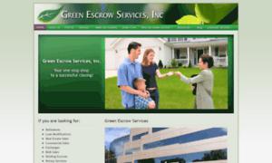 Greenescrow.biz thumbnail
