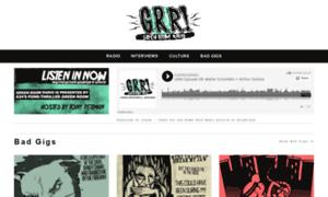 Greenroom-radio.com thumbnail