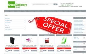 Greenstationery.co.uk thumbnail