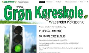 Gron-koreskole.dk thumbnail