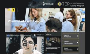 Gtep.technion.ac.il thumbnail