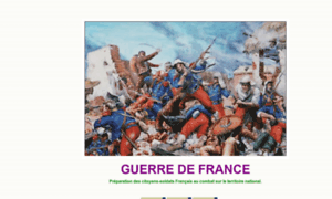 Guerredefrance.fr thumbnail