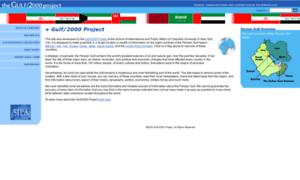 Gulf2000.columbia.edu thumbnail