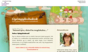 Gyongykobakok.blogger.hu thumbnail