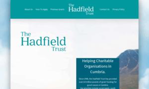 Hadfieldtrust.org.uk thumbnail