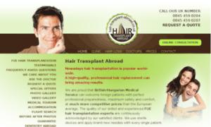 Hair-transplant-abroad.co.uk thumbnail
