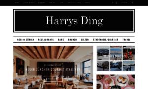 Harrysding.ch thumbnail
