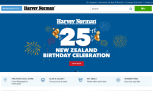 Harveynorman.co.nz thumbnail