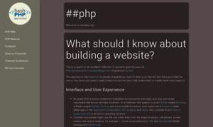 Hashphp.org thumbnail