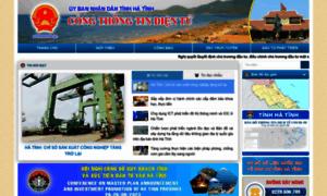 Hatinh.gov.vn thumbnail