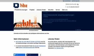 Hbz-nrw.de thumbnail