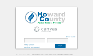 Hcpss Instructure Com Log In To Canvas