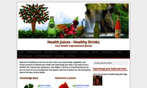 Healthjuices.net thumbnail