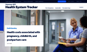 Healthsystemtracker.org thumbnail