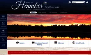 Henniker.org thumbnail