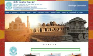 Heritage.cbseacademic.in thumbnail