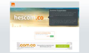 Hescom.co thumbnail