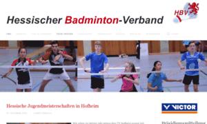 Hessischer-badminton-verband.de thumbnail